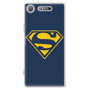Plastové pouzdro iSaprio - Superman 03 - Sony Xperia XZ1
