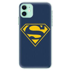 Plastové pouzdro iSaprio - Superman 03 - iPhone 11