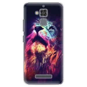 Plastové pouzdro iSaprio - Lion in Colors - Asus ZenFone 3 Max ZC520TL
