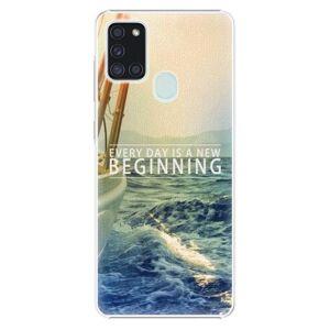 Plastové pouzdro iSaprio - Beginning - Samsung Galaxy A21s