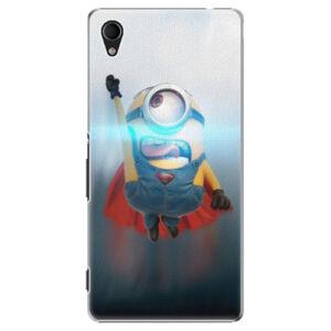 Plastové pouzdro iSaprio - Mimons Superman 02 - Sony Xperia M4