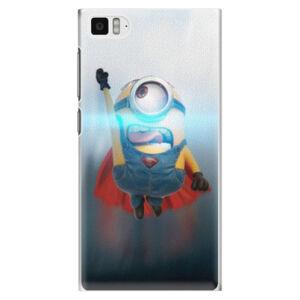 Plastové pouzdro iSaprio - Mimons Superman 02 - Xiaomi Mi3