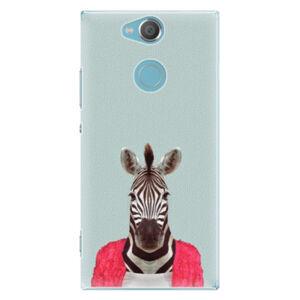Plastové pouzdro iSaprio - Zebra 01 - Sony Xperia XA2