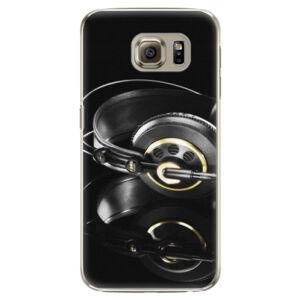Plastové pouzdro iSaprio - Headphones 02 - Samsung Galaxy S6