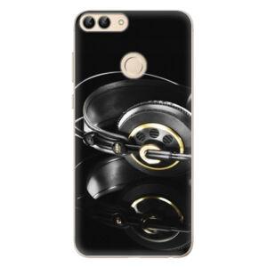 Odolné silikonové pouzdro iSaprio - Headphones 02 - Huawei P Smart