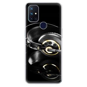 Odolné silikonové pouzdro iSaprio - Headphones 02 - OnePlus Nord N10 5G
