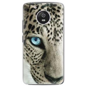 Plastové pouzdro iSaprio - White Panther - Lenovo Moto G5