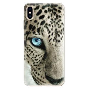 Silikonové pouzdro iSaprio - White Panther - iPhone XS Max