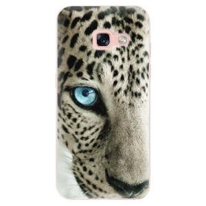 Odolné silikonové pouzdro iSaprio - White Panther - Samsung Galaxy A3 2017