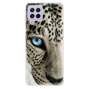 Odolné silikonové pouzdro iSaprio - White Panther - Samsung Galaxy A22