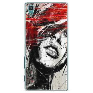 Plastové pouzdro iSaprio - Sketch Face - Sony Xperia Z5