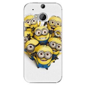 Plastové pouzdro iSaprio - Mimons 01 - HTC One M8