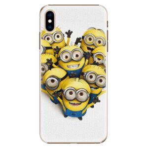 Plastové pouzdro iSaprio - Mimons 01 - iPhone XS Max