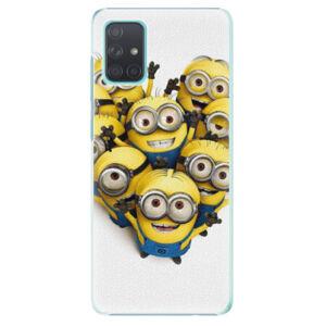 Plastové pouzdro iSaprio - Mimons 01 - Samsung Galaxy A71