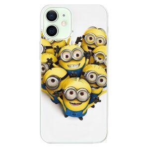 Odolné silikonové pouzdro iSaprio - Mimons 01 - iPhone 12 mini