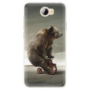 Plastové pouzdro iSaprio - Bear 01 - Huawei Y5 II / Y6 II Compact