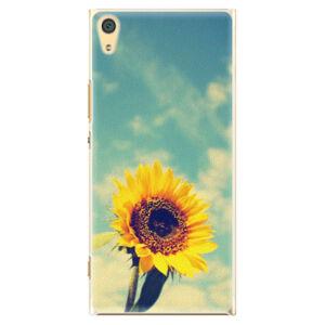 Plastové pouzdro iSaprio - Sunflower 01 - Sony Xperia XA1 Ultra