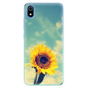 Odolné silikonové pouzdro iSaprio - Sunflower 01 - Xiaomi Redmi 7A