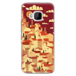 Plastové pouzdro iSaprio - Mountain City - HTC One M9