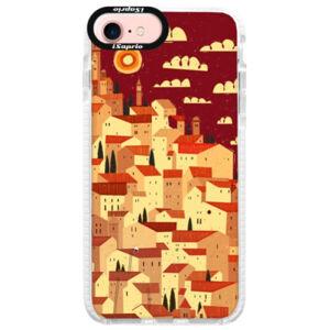 Silikonové pouzdro Bumper iSaprio - Mountain City - iPhone 7