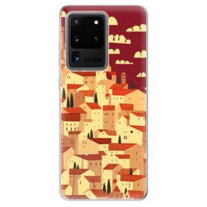 Odolné silikonové pouzdro iSaprio - Mountain City - Samsung Galaxy S20 Ultra