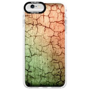 Silikonové pouzdro Bumper iSaprio - Cracked Wall 01 - iPhone 6/6S