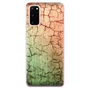 Odolné silikonové pouzdro iSaprio - Cracked Wall 01 - Samsung Galaxy S20