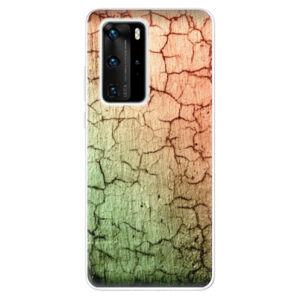 Odolné silikonové pouzdro iSaprio - Cracked Wall 01 - Huawei P40 Pro
