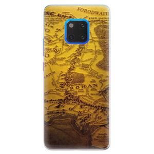 Silikonové pouzdro iSaprio - Old Map - Huawei Mate 20 Pro