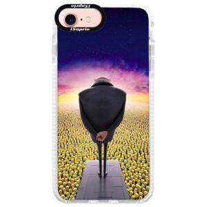 Silikonové pouzdro Bumper iSaprio - Gru - iPhone 7