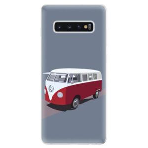 Odolné silikonové pouzdro iSaprio - VW Bus - Samsung Galaxy S10+