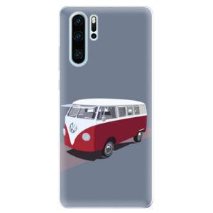 Odolné silikonové pouzdro iSaprio - VW Bus - Huawei P30 Pro