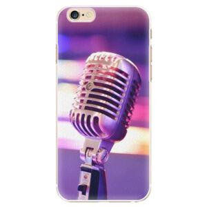 Plastové pouzdro iSaprio - Vintage Microphone - iPhone 6/6S