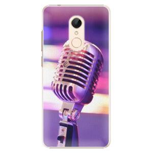 Plastové pouzdro iSaprio - Vintage Microphone - Xiaomi Redmi 5