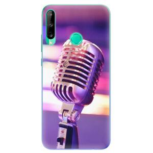 Odolné silikonové pouzdro iSaprio - Vintage Microphone - Huawei P40 Lite E