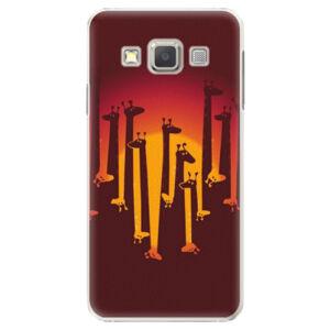 Plastové pouzdro iSaprio - Giraffe 01 - Samsung Galaxy A7