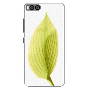 Plastové pouzdro iSaprio - Green Leaf - Xiaomi Mi6