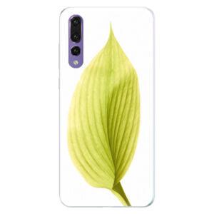 Silikonové pouzdro iSaprio - Green Leaf - Huawei P20 Pro