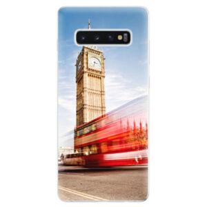 Odolné silikonové pouzdro iSaprio - London 01 - Samsung Galaxy S10+
