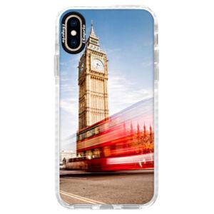 Silikonové pouzdro Bumper iSaprio - London 01 - iPhone XS