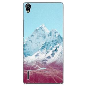 Plastové pouzdro iSaprio - Highest Mountains 01 - Huawei Ascend P7
