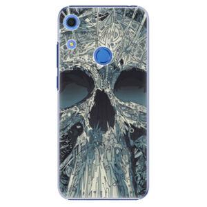Plastové pouzdro iSaprio - Abstract Skull - Huawei Y6s