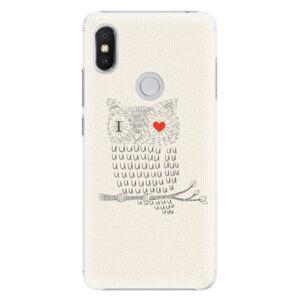 Plastové pouzdro iSaprio - I Love You 01 - Xiaomi Redmi S2