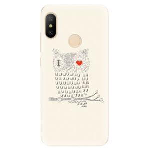 Odolné silikonové pouzdro iSaprio - I Love You 01 - Xiaomi Mi A2 Lite