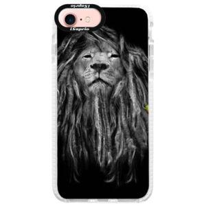 Silikonové pouzdro Bumper iSaprio - Smoke 01 - iPhone 7