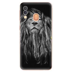 Odolné silikonové pouzdro iSaprio - Smoke 01 - Samsung Galaxy A40