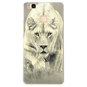 Odolné silikonové pouzdro iSaprio - Lioness 01 - Huawei Ascend P9 Lite