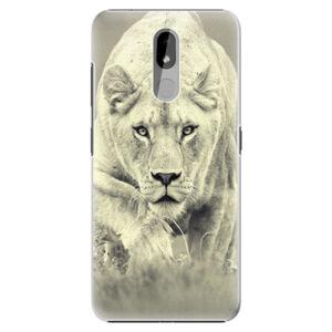 Plastové pouzdro iSaprio - Lioness 01 - Nokia 3.2