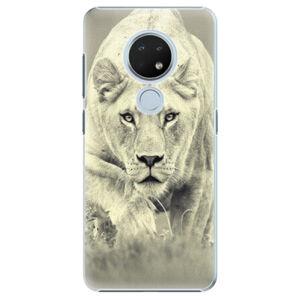 Plastové pouzdro iSaprio - Lioness 01 - Nokia 6.2