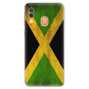 Odolné silikonové pouzdro iSaprio - Flag of Jamaica - Samsung Galaxy A40